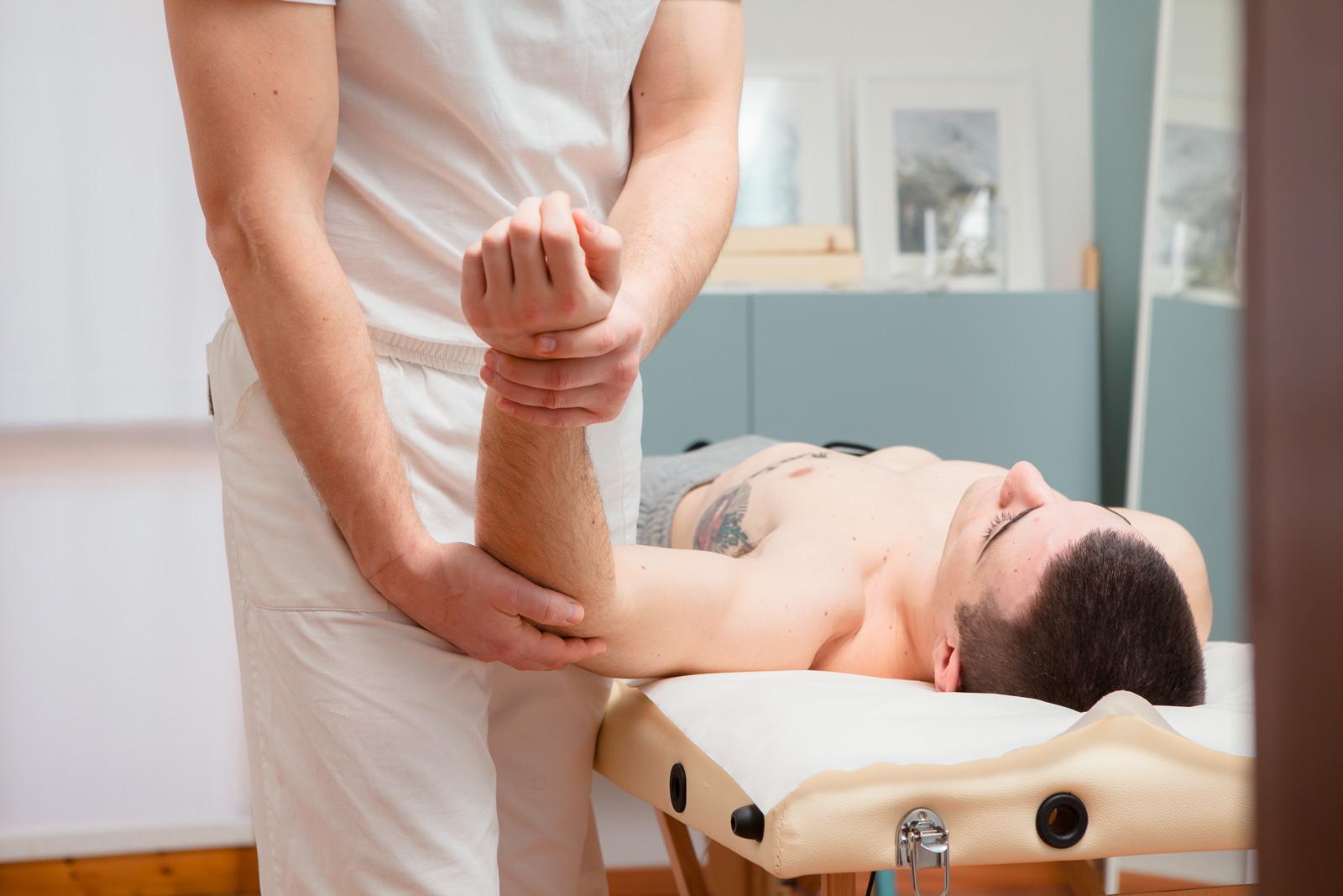 fisioterapia per la spalla
